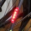性能は十分。品質は微妙。ロードバイクにピッタリサイズ。Tomo Light 自転車用小型LED